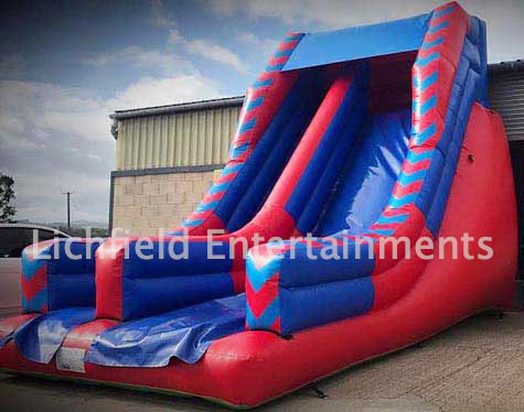 Mega Slide inflatable hire from Lichfield Entertainments UK