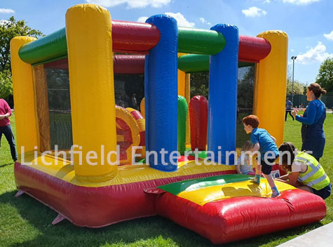 13x11ft Bouncy Castle hire from Lichfield Entertainments UK
