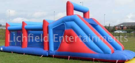 Adults Big Challenge Inflatable Assault Course