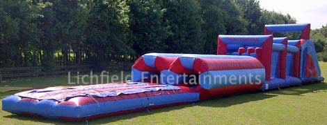Inflatable Assault Course for Adults