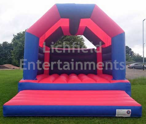 19x17ft Bouncy Castle for adults for hire from Lichfield Entertainments