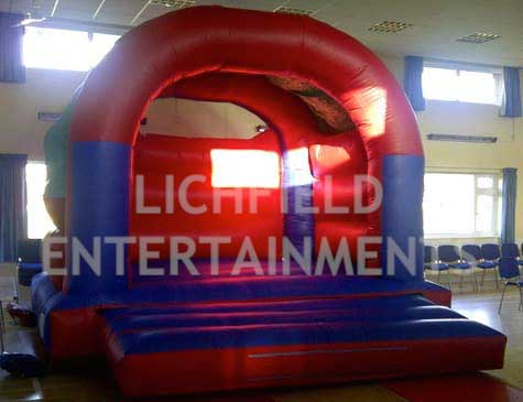 Adult and childrens Bouncy Castle hire from Lichfield Entertainments
