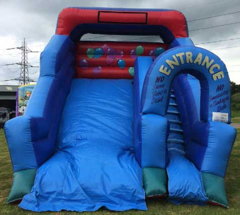 Bouncy Slide hire from Lichfield Entertainments UK