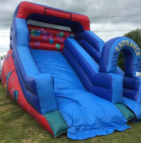Inflatable Slide hire from Lichfield Entertainments UK