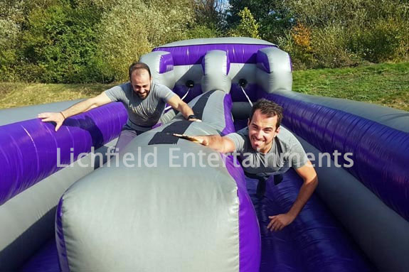 Bungee Run inflatable game for hire