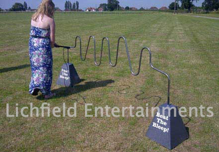 Giant Buzzer Wire game for hire