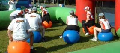 Company sports day games hire.
