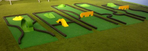 Crazy Golf Course for hire