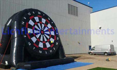 Giant Football Darts Inflatable for hire