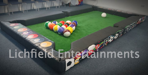 Giant Footpool game for hire