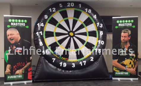 Giant Dartboard for hire