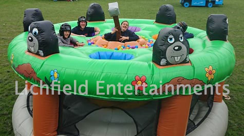 Giant Whack a Mole game for hire