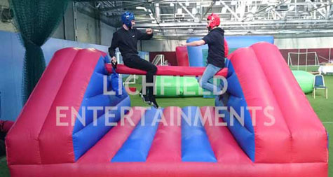 Pole Jousting Inflatable game for hire
