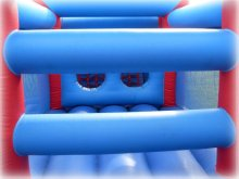 Hire an inflatable assault course