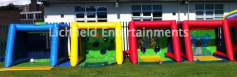 Inflata-frame game hire