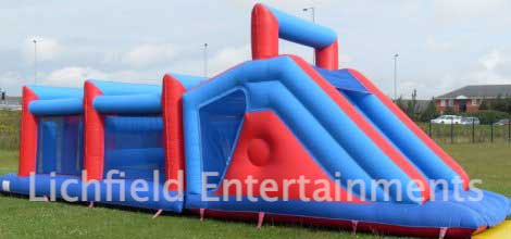 Big Challenge Inflatable Assault Course for hire