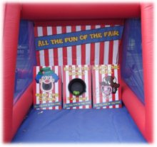 Inflatable Fairground Side Stall for hire