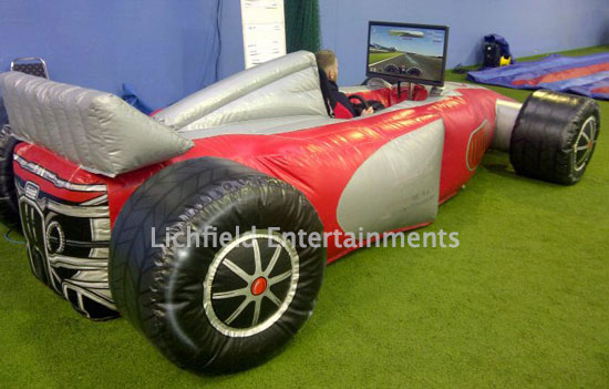 Race Simulator Hire - Lichfield Entertainments UK