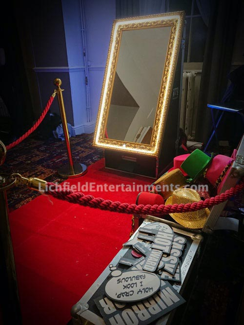 Magic Mirror Selfie Booth Hire - Lichfield Entertainments UK