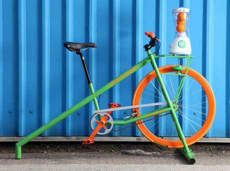 Smoothie maker bike for hire