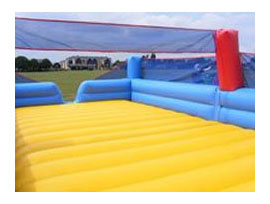 Volleyball Court Bouncy Castle for hire