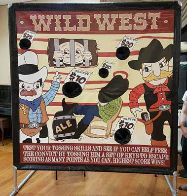 Wild West theme game hire